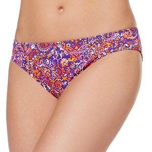 Ralph Lauren Bikini Bottom Paisley Sz 12
